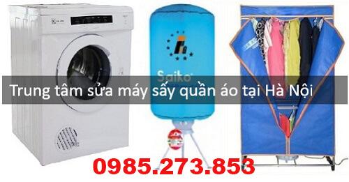Địa chỉ sửa máy sấy quần áo tại nhà Hà Nội uy tín