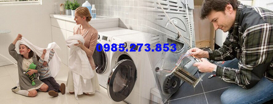 Sửa máy sấy quần áo hãng Daiwa tại Hà Nội