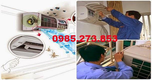 Sửa chữa bảo dưỡng điều hòa tại Hà Nội